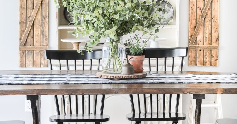 Summer Centerpieces for your Dining Room