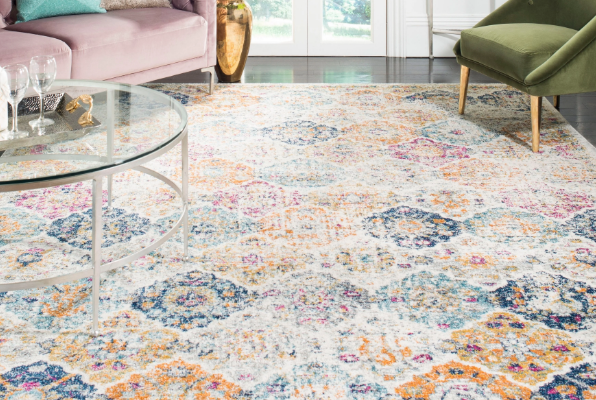 Add This Boho Rug to Any Room in your Home