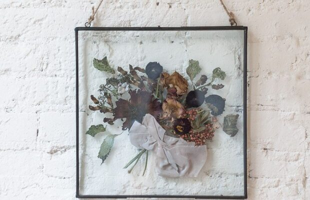 Preserve and Frame your Wedding Day Bouquet